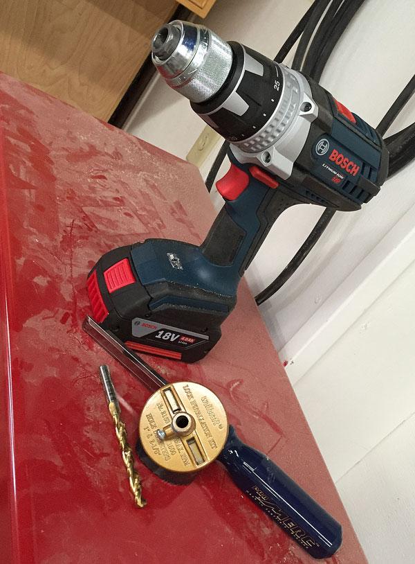 Bosch 18-volt drill