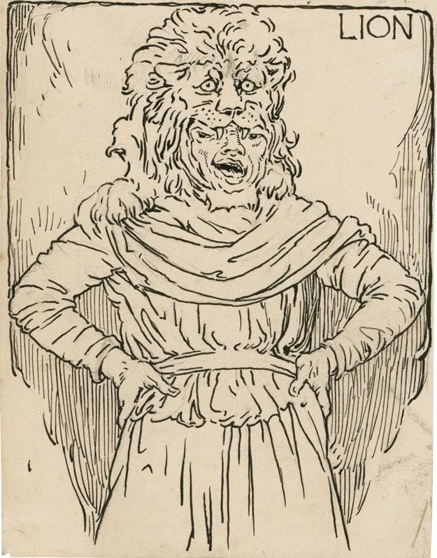Snug_as_Lion_-_Louis_Rhead_(before_1918)